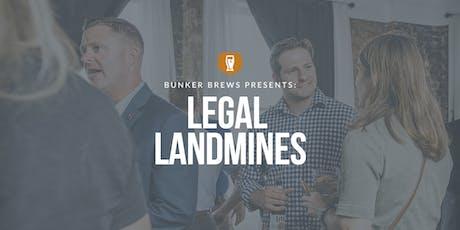 Bunker Brews Raleigh-Durham: Legal Landmines tickets