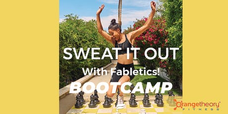 Fabletics BOOTCAMP tickets