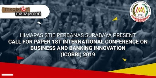 INTERNATIONAL CONFERENCE OF BUSINESS AND BANKING INNOVATIONS