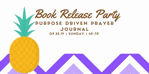 Purpose Driven Book Release Party