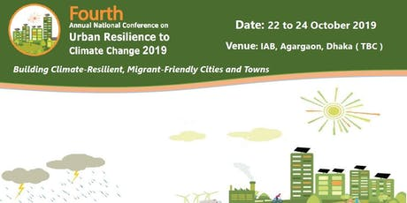 The Fourth Annual National Conference on Urban Resilience to Climate Change tickets