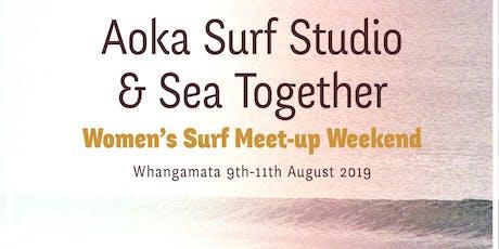 Aoka x Sea Together Women's Surf Meet-up Weekend tickets