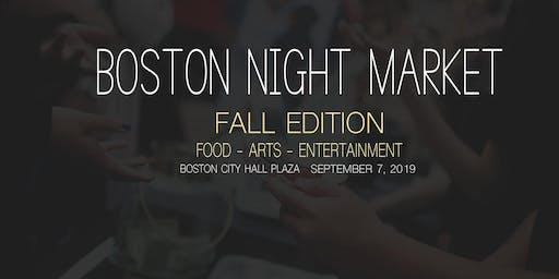 Boston Night Market 2019: Fall Edition