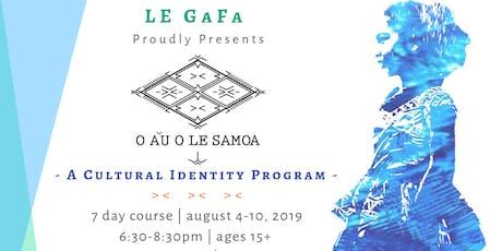 O A'U O LE SAMOA tickets