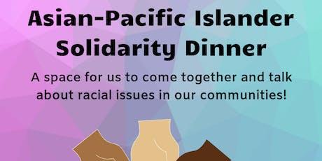 Asian-Pacific Islander Solidarity Dinner tickets
