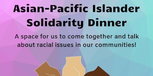 Asian-Pacific Islander Solidarity Dinner