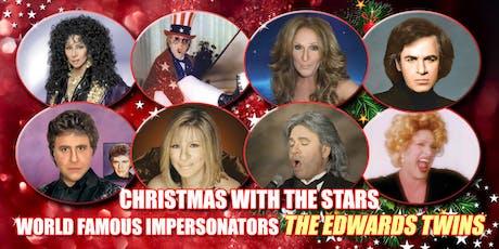 Cher, Bocelli, Celine Dion, Streisand Vegas Edwards Twins Impersonators tickets