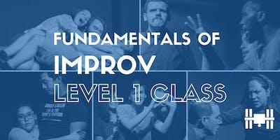 Class: Level 1 - Fundamentals of Long Form Improv (Wednesdays 6-8pm; 9 weeks)