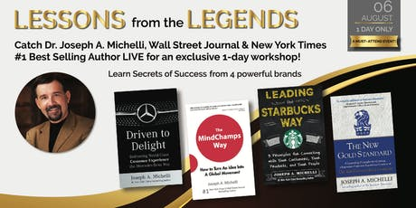 Lessons From The Legends tickets