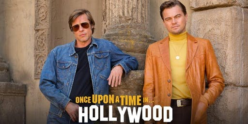 Movie Fundraiser - Once Upon a Time in Hollywood
