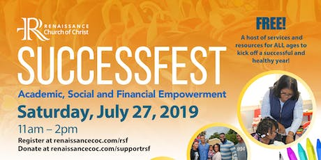 (Back to School) SuccessFest: Academic, Social & Financial Empowerment  tickets