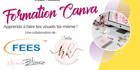 Formation Canva billets