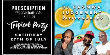 Dancehall Soca & More : Prescription Night Club tickets