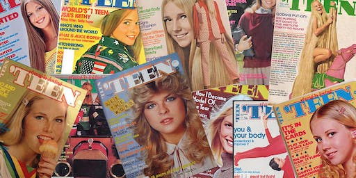 GROUP SHOOT: 70's Magazine Cover