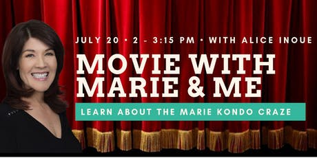 Movie with Marie and Me with Alice Inoue tickets