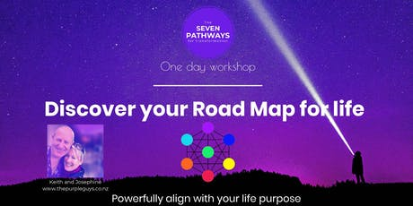 Discover your ROAD MAP for a better life - Wellington tickets