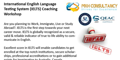 04 Days IELTS Coaching Workshop