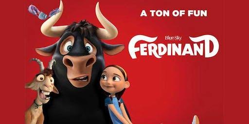 SCHOOL HOLIDAYS: [$5] Ferdinand [$5]
