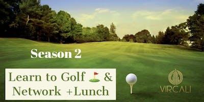 """Golfers Social Club """"Learn 2 golf & Network"""" Season 2."""