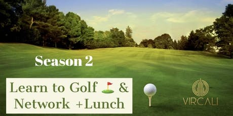 "Golfers Social Club ""Learn 2 golf & Network"" Season 2.  tickets"