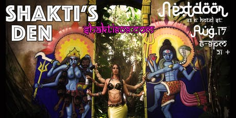 Shakti's Den, Boom Boom Bollywood!  tickets