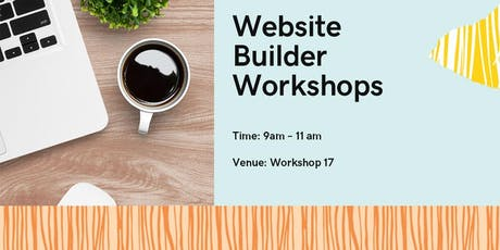 Free Website Builder Workshop tickets