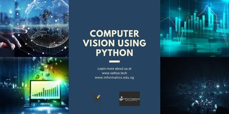 Computer Vision using Python tickets