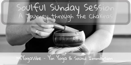 Soulful Sunday Session - Yin & Sound Immersion tickets