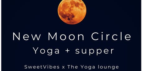 New Moon Circle - Yoga + Supper  tickets