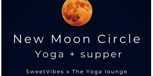 New Moon Circle - Yoga + Supper