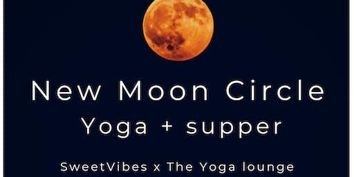 New Moon Circle - Yoga + Supper