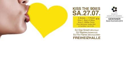 Kiss the 90ies - Münchens größte 90er Party! Tickets