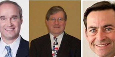 CD7 Grassroots Forum - Mike Schofield, Judge Russ Ridgway,  Orlando Sanchez tickets