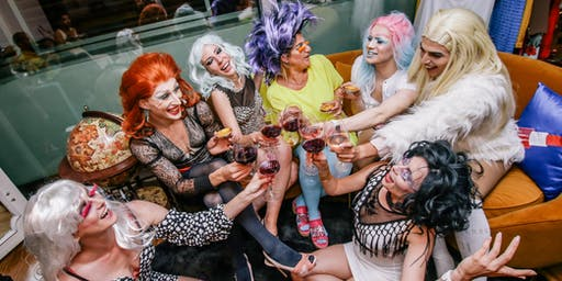 DRAG QUEENS Cooking Party & be transformed in a Drag Queen! with Live Shows