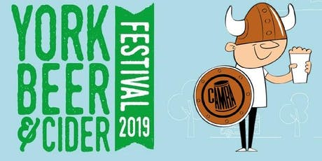 York Beer & Cider Festival 2019 tickets