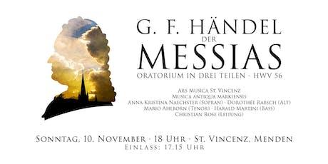 Der Messias - G. F. Händel Tickets