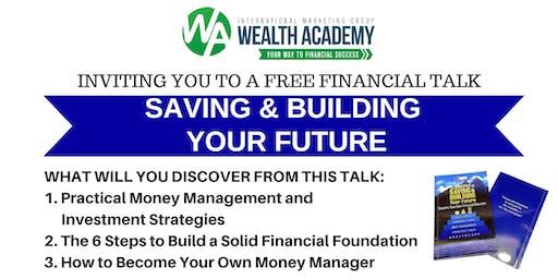 Saving and Building Your Future CDO