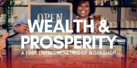 Wealth & Prosperity tickets
