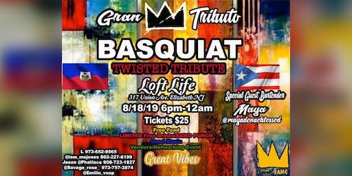 Basquiat's Twisted Tribute: Gran Tributo