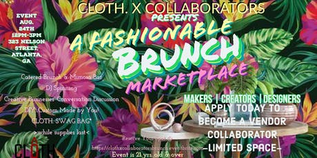 Vendors Wanted  CLOTH. X COLLABORATORS tickets