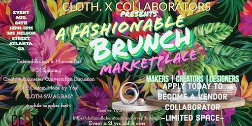 Vendors Wanted  CLOTH. X COLLABORATORS