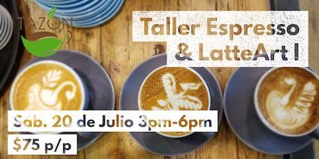Taller Espresso & Latte Art I tickets
