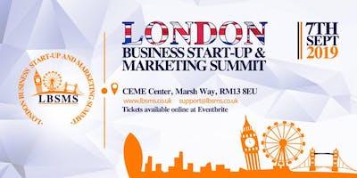 London Business Start-Up & Marketing Summit 2019