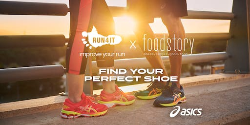Run4It X Foodstory ft ASICS Try On Shoes
