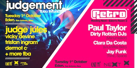 Judgement / Retro - One More Time Ibiza tickets