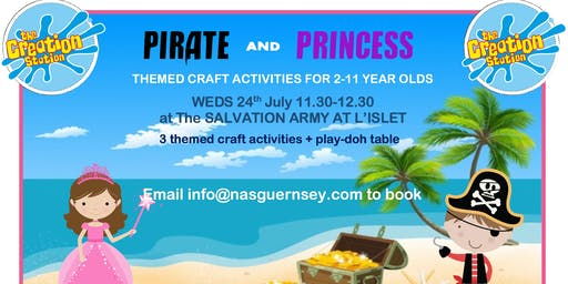 Pirate and Princess Crafts for children with autism/ADHD