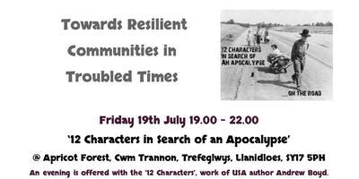 Community Resilience Roadshow - '12 Characters in Search of an Apocalypse'