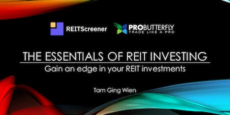 The Essentials of REIT Investing tickets