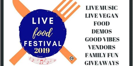 Live Food Festival tickets