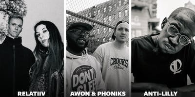 Awon & Phoniks, Anti-Lilly, Relatiiv // Badehaus Berlin